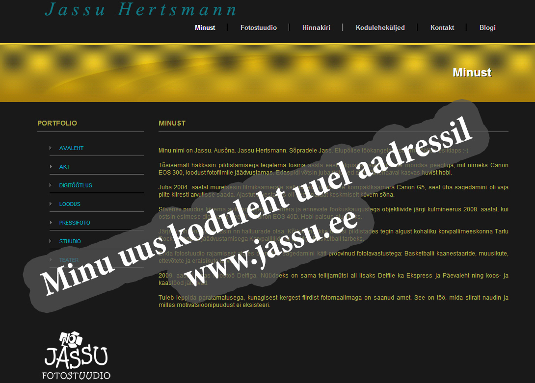 Check my new Website :-)